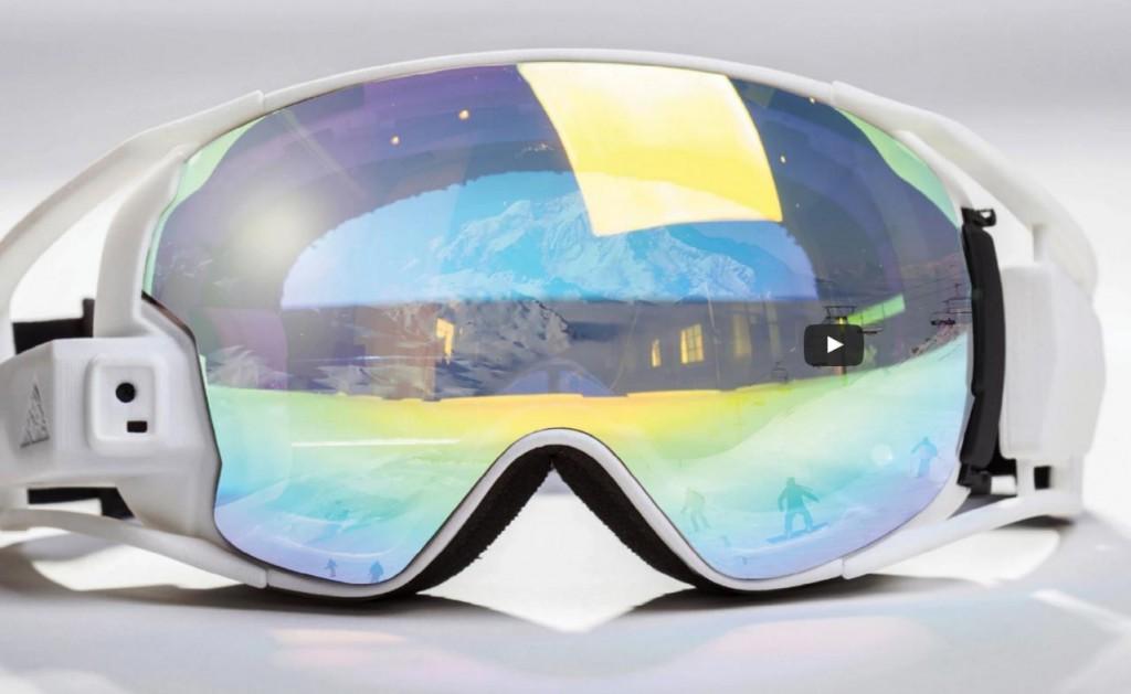 来自以色列的黑科技 RideOn增强现实滑雪镜