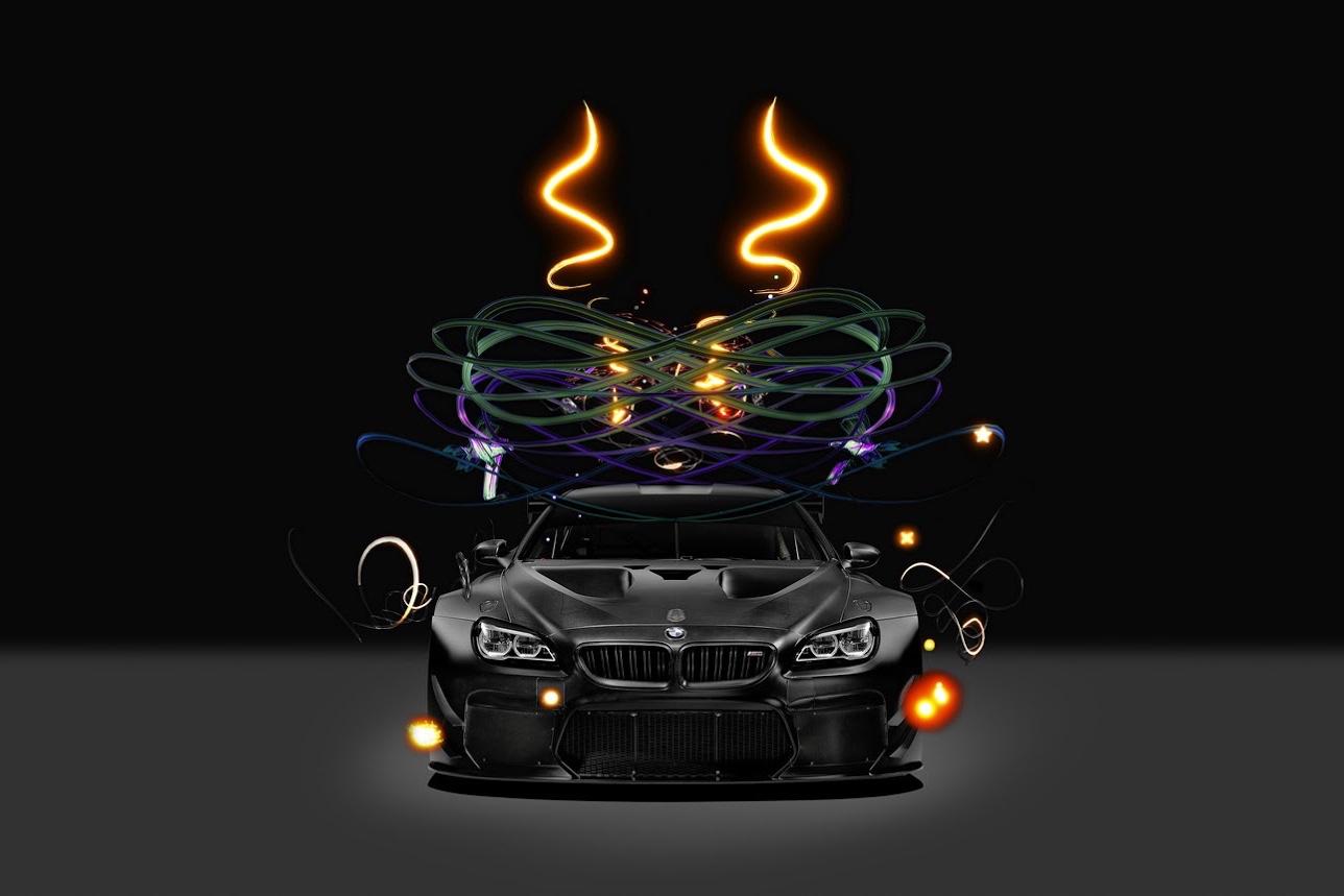 BMW携手中国艺术家曹裴:打造 M6 GT3艺术车