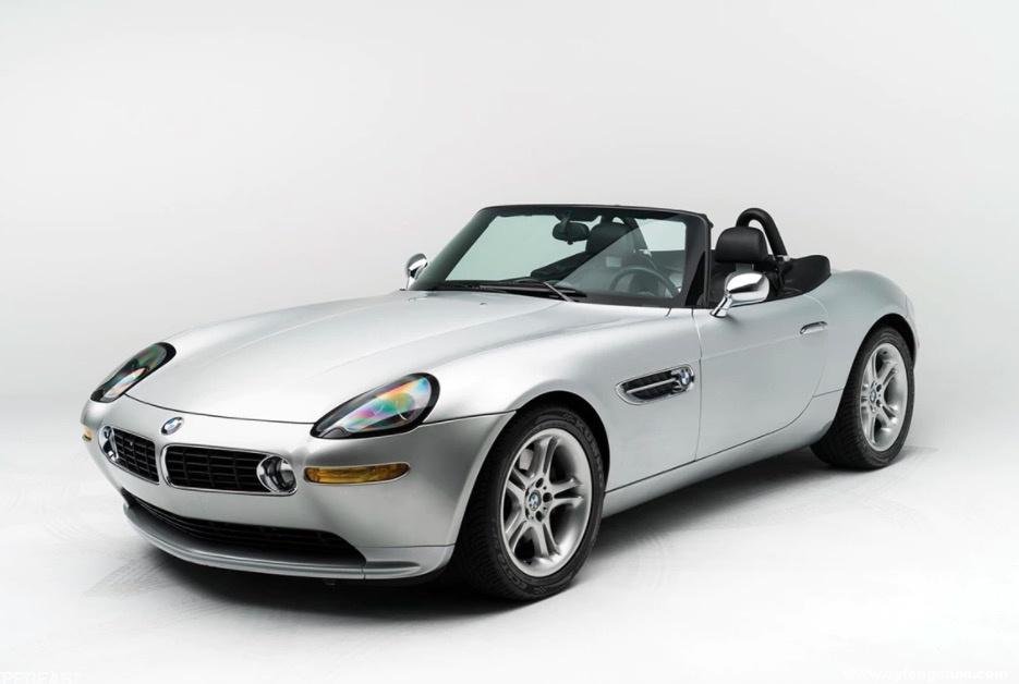 Steve Jobs前座驾:BMW Z8即将进行拍卖