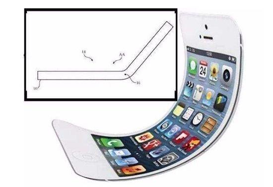 苹果申请可折叠屏幕专利 面世将再次落后于三星!-烽巢网