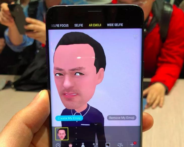 三星新机Galaxy S9 AR新技术:表情有点渗人