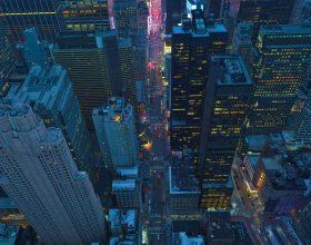 用12K摄像机观看一个令人着迷的纽约