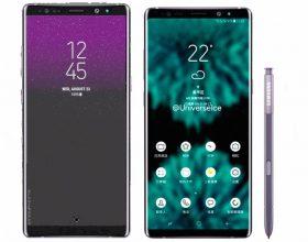 三星Note 9正面配件曝光 更全面的全视曲面屏?