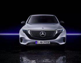 奔驰首款SUV电动汽车 EQC 问世