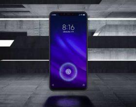 小米8 Pro看起来就像iPhone X的内置指纹传感器
