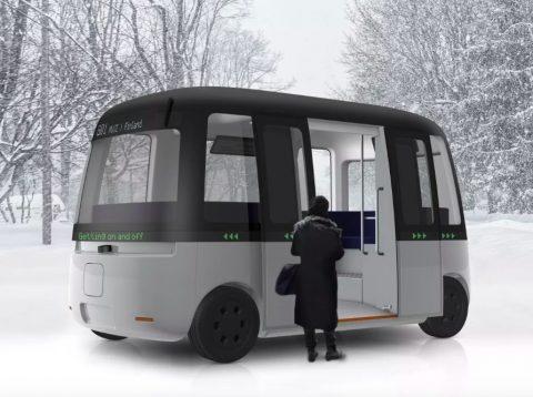 无印良品与芬兰无人驾驶公司研发穿梭巴士