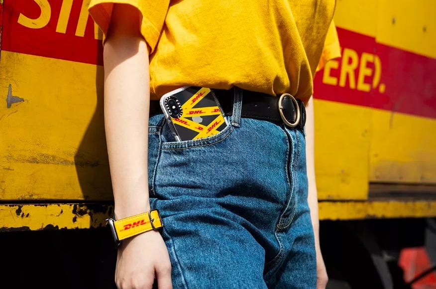 DHL 与 CASETiFY 推联名版手机壳及表带
