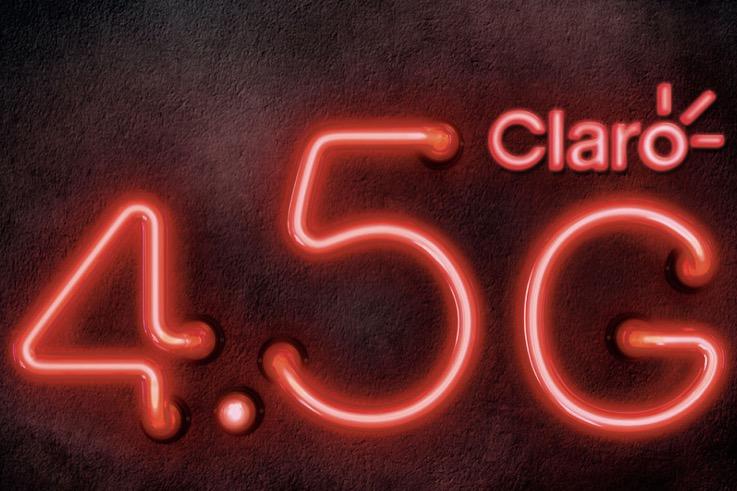 巴西手机运营商Claro的4.5G网络标识极不诚实
