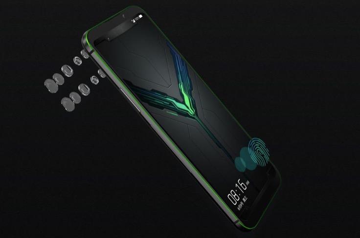 小米宣布其黑色鲨鱼2游戏手机与压力敏感OLED显示屏