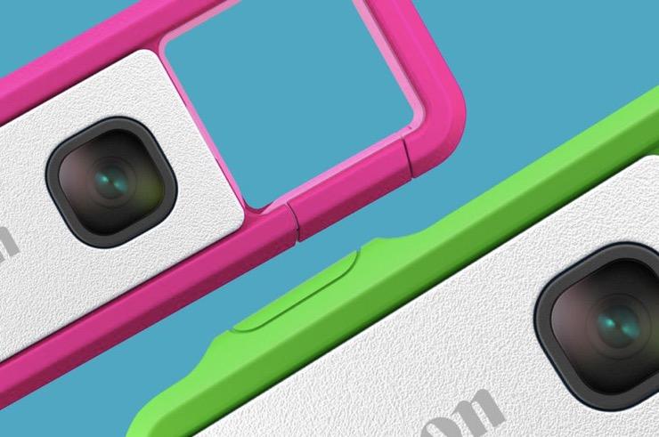 佳能正在众筹一款可以连接手机的微型可夹式相机